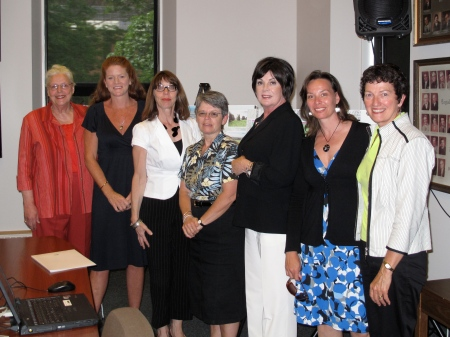 UFPN Working Group-Kirsten Connor, Heidi Hyndman, Cheryl Stead, Jan Rankin-Collie, Kathy Kennedy, Katherine McQuaid, and Dianne Bradley.  Missing from photo is Laurie McBurney