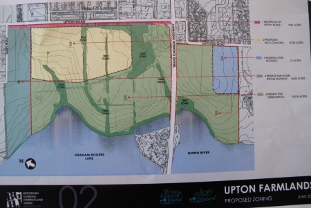 Land agreement for Upton Farmlands